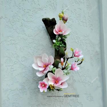 Dây leo phối hoa mộc lan treo D0401-2b